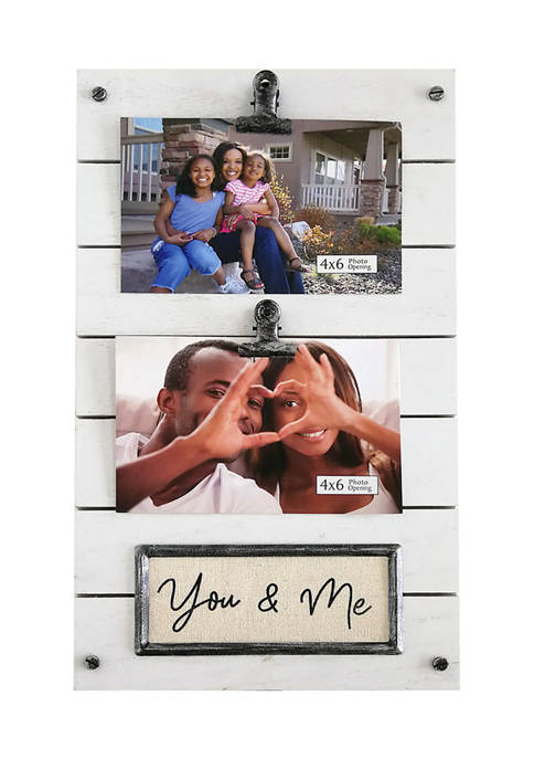 You and Me Clip Frame