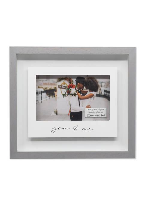 You and Me Polaroid Shadow Box Frame
