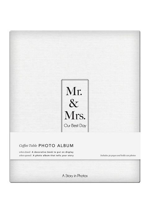 Mr. and Mrs. Photo Album