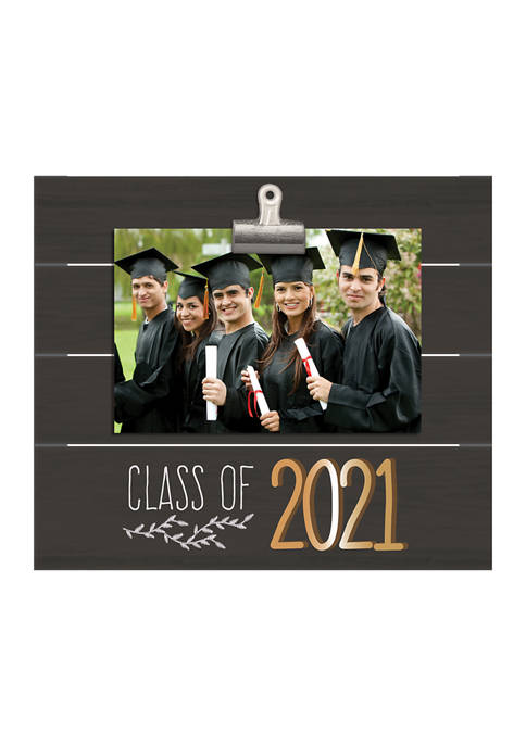 New View Class of 2021 Plank Clip Frame