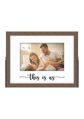 New View This Is Us Metal Easel Frame