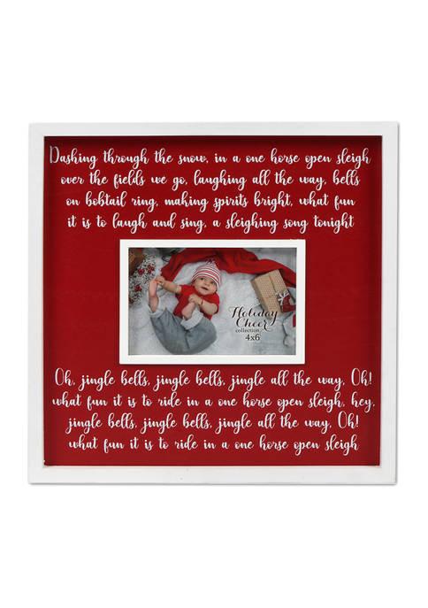 New View Jingle Bells Frame