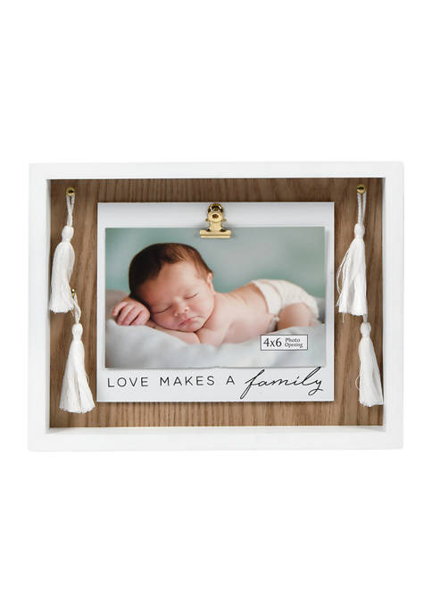 Love Makes a Family Picture Frame