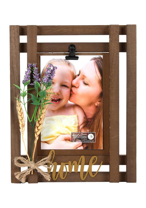 New View Home Greenery Picture Frame