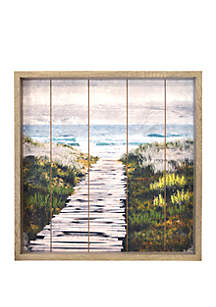 New View Path to Beach Wall Art
