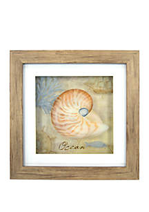 New View Ocean Shell Wall Art