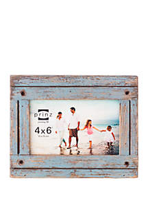 New View 4 in x 6 in Distressed Gray Homestead Frame