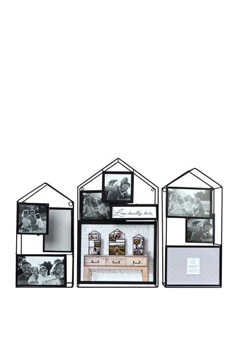 New View 3 Piece Collage Frame- Wire House