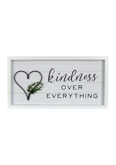 New View Everyday Home- Kindness Over Everything Wall