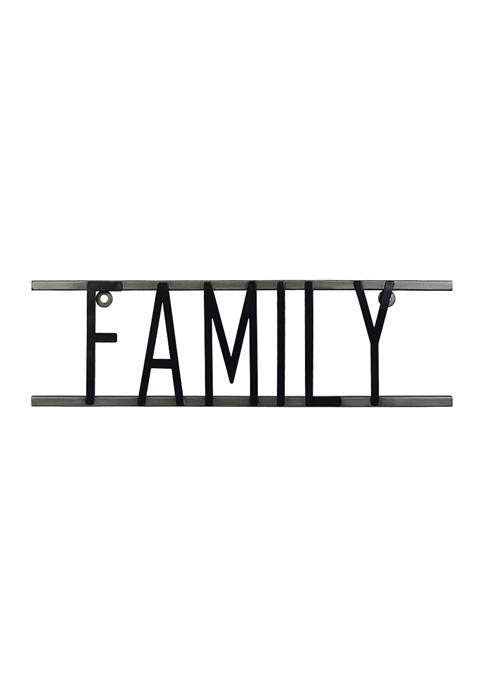 Everyday Home- Metal Sign, Family
