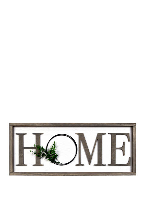 New View Everyday Home- Home Wall Sign