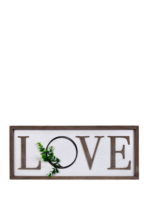 New View Everyday Home- Love Wall Sign