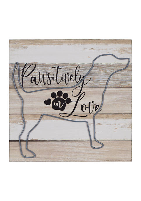 Pet Sign- Pawsitively in Love