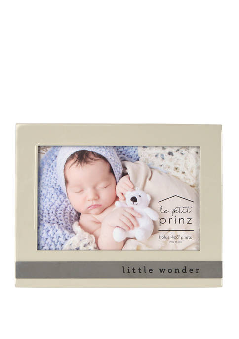 New View Baby Frame- High Gloss Metal Wrap,