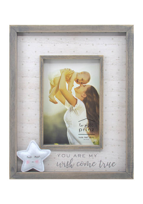 New View Baby Frame- Plush Star Reverse Box,