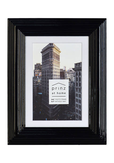 New View Midtown Frame- Black, 4x6