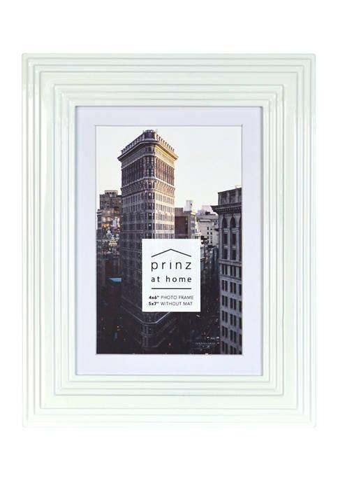 New View Midtown Frame- White, 4x6