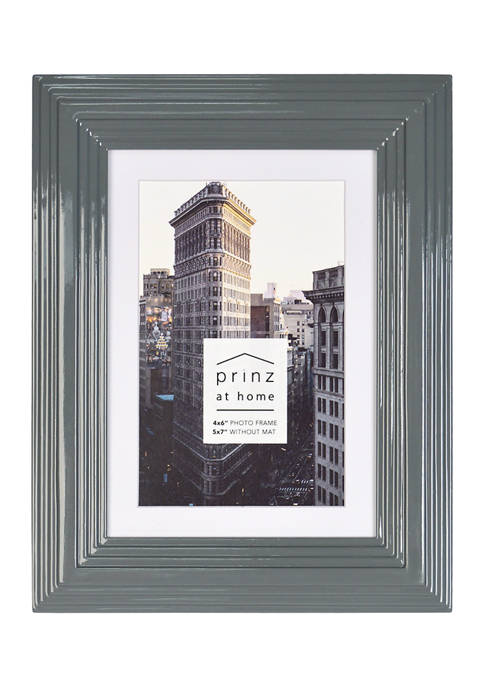New View Midtown Frame- Gray, 4x6