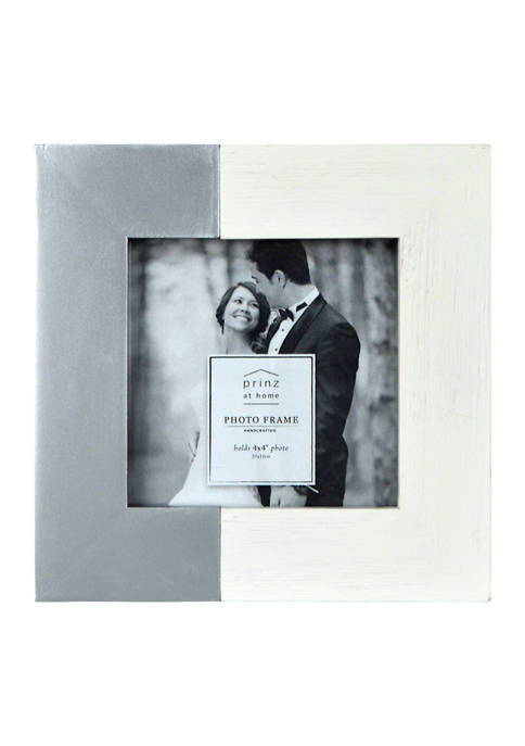 Wedding Frame - Metallic 4x4 Two-Tone