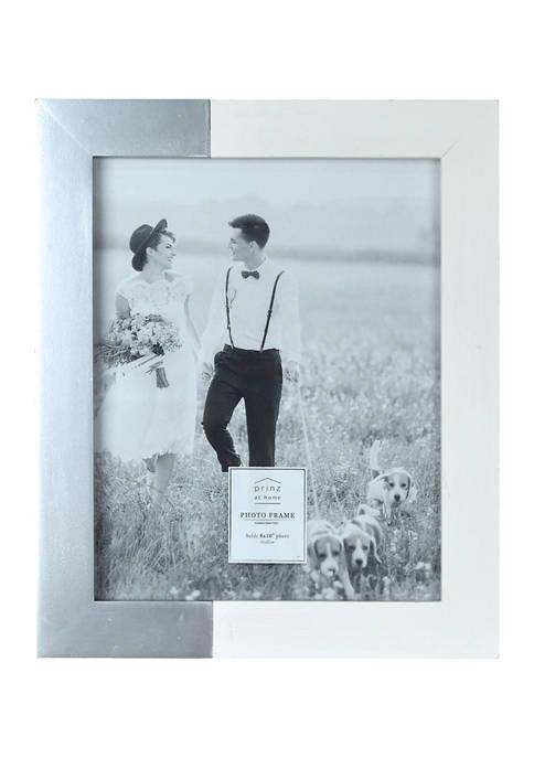 Wedding Frame- Metallic 8x10 Two-Tone