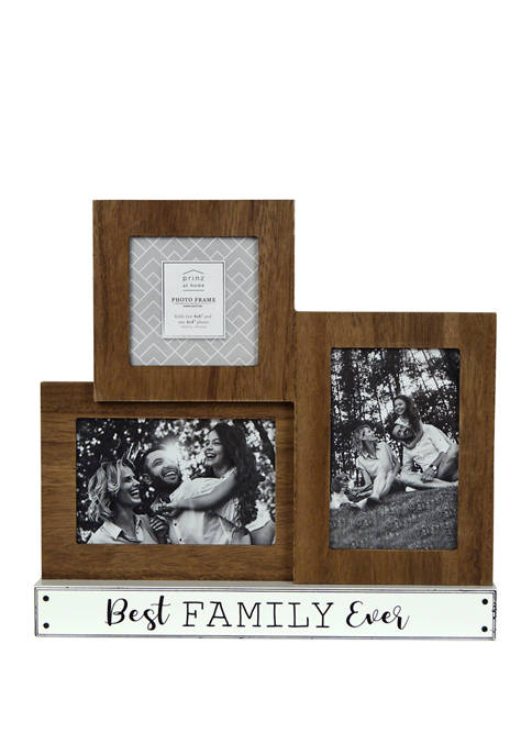 Sentiment Collage Frame- Best Family Ever