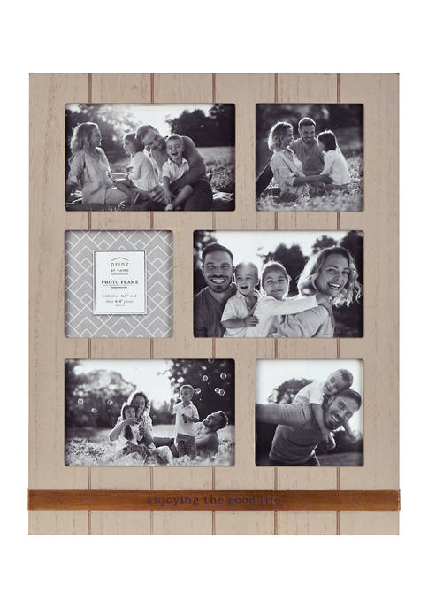 New View Sentiment Frame- Metal Band Collage Frame,