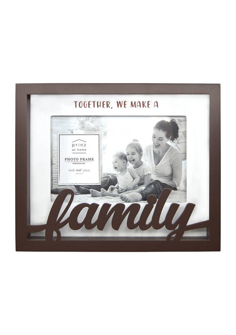 New View Sentiment Frame- Boxed Word Frame, Family
