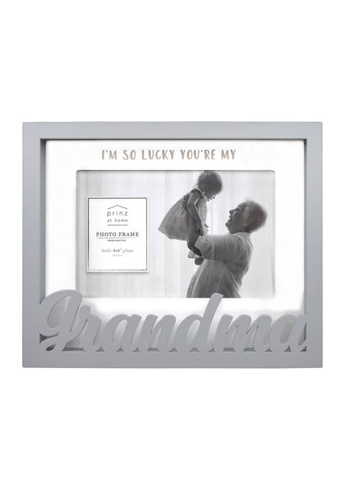 New View Sentiment Frame- Boxed Word Frame, Grandma