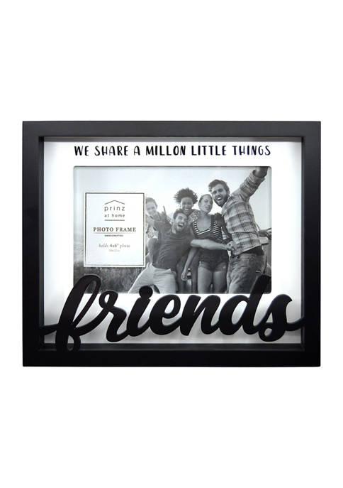 Sentiment Frame- Boxed Word Frame, Friends