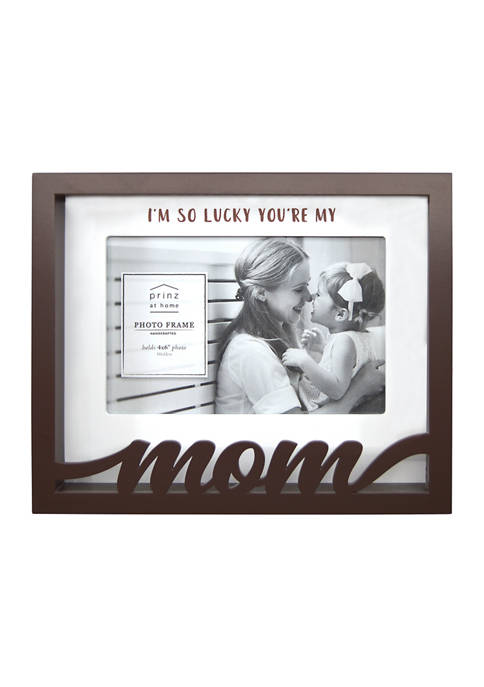 New View Sentiment Frame- Boxed Word Frame, Mom