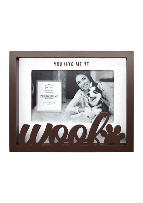 New View Sentiment Frame- Boxed Word Frame, Woof