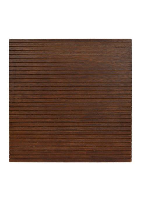 Letterboard- 12x12 Brownwash Letterboard & 180 Piece Letterpack