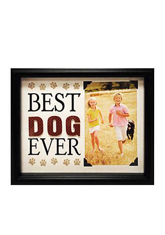 New View Best Dog Ever 4x6 Frame Belk