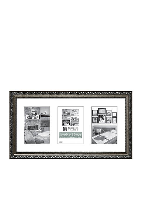 Timeless Frames Carrington Pewter 4x6 Collage Frame