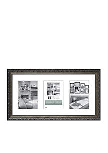 Carrington Pewter 4x6 Collage Frame - Online Only