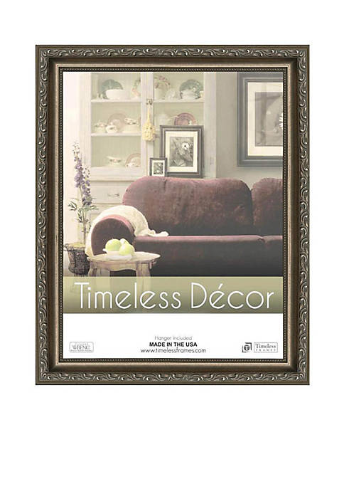 Timeless Frames Carrington Pewter 16x20 Frame