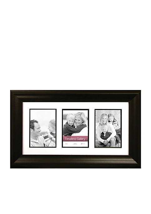 Timeless Frames Elise Gallery Black 10x20 Collage Frame