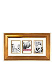 Timeless Frames Arial Gold 10x20 Collage Frame