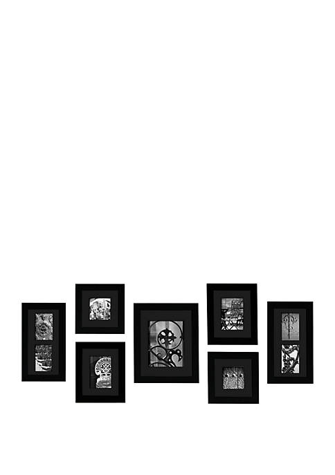 Photo Frame Wall Gallery Kit 7-Piece Set