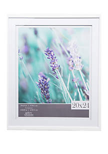 Wall Frame with Double White Mat