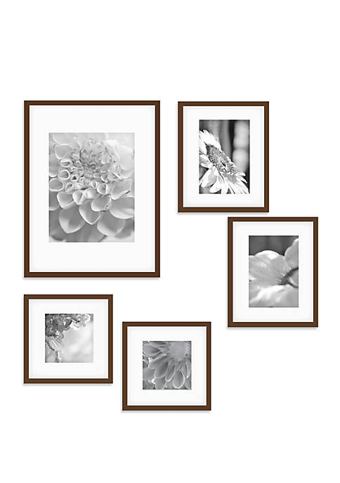 Gallery Perfect Wood Photo Frame Gallery Wall Kit