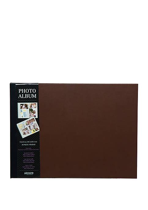 Premium Two Tone Leather Photo Album or Scrapbook