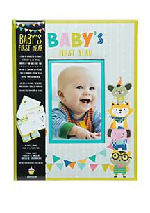 Pinnacle Frames Accents Babys First Year Hardcover Milestone