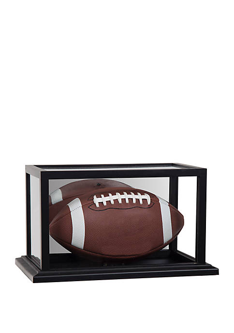 Gallery Solutions Mirrored Acrylic Football Display Case