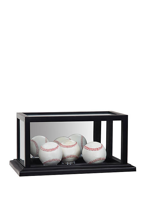 Gallery Solutions Galry Mirrored Acrylic Baseball Display Case