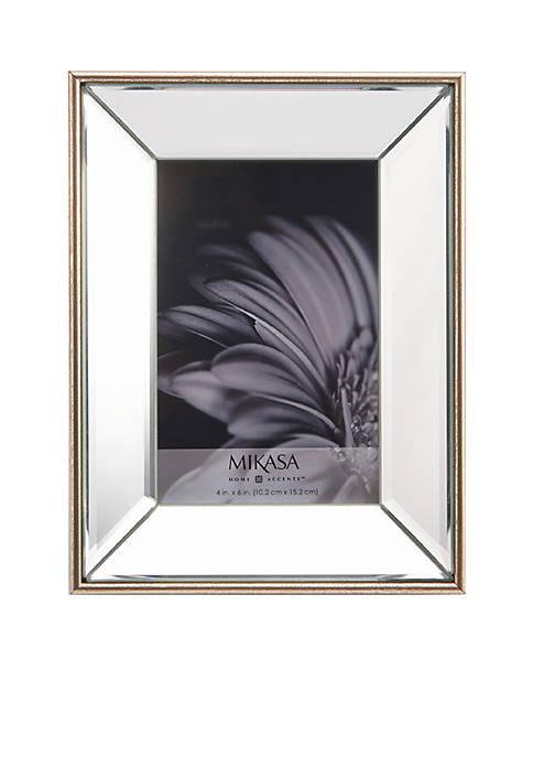 Mikasa Champagne Plastic Mirror Frame