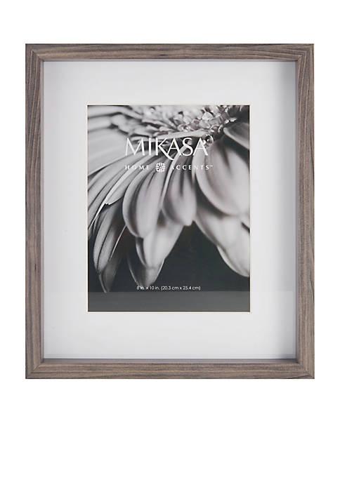 """Mikasa 8""""x10"""" Gray Frame"""