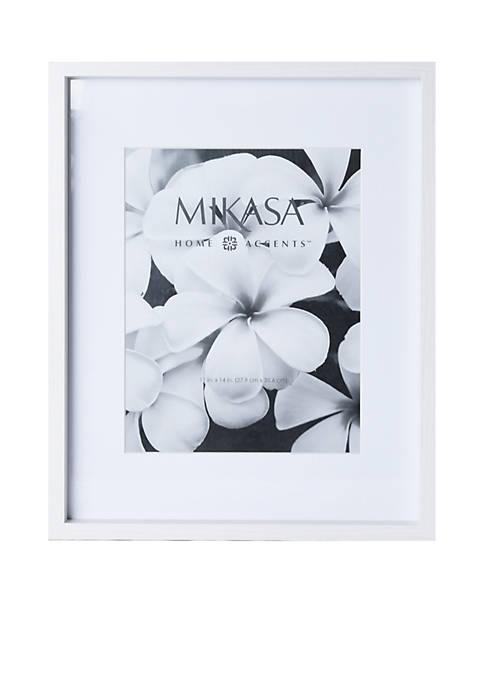 Mikasa 11x14 inch White Wood Frame