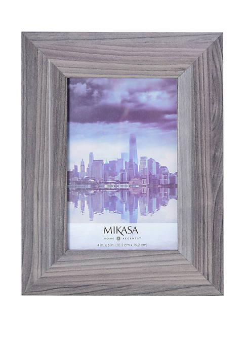 Mikasa Gray 4 in x 6 in Frame