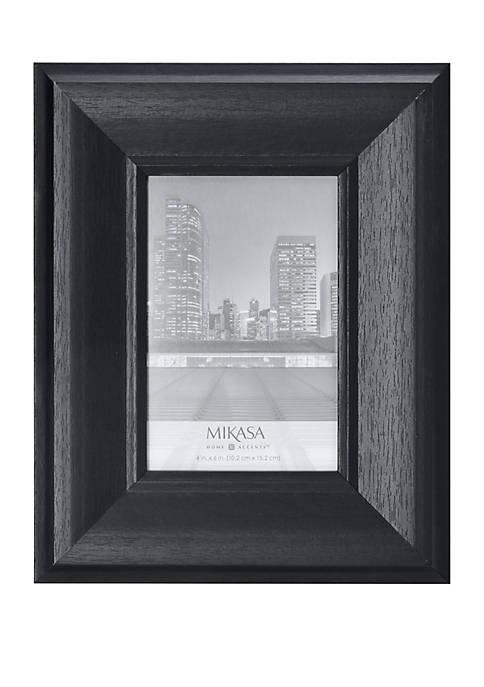 Mikasa Black 4 in x 6 in Portrait